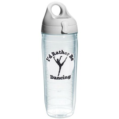 Game On Rather Be Dancing Water Bottle Plastic