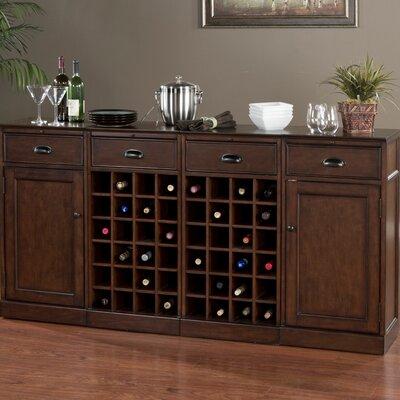 Natalia Bar Cabinet with Wine Storage