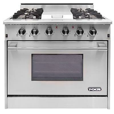 "36"" Free-standing Gas Range with Griddle"