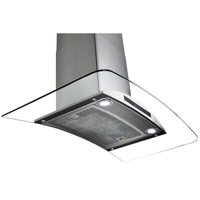 "30"" 400 CFM Convertible Wall Mount Range Hood"