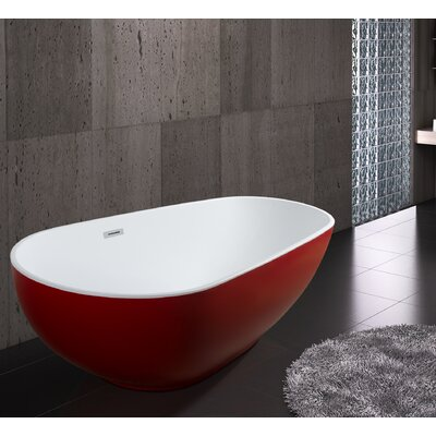 "67"" x 33.5"" Bathtub"