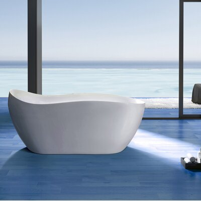 "67"" x 31"" Soaking Bathtub"