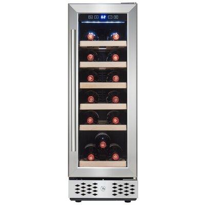 18 Bottle Compressor Adjustable Single Zone Built-in/Freestanding Wine Cooler