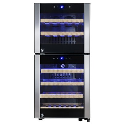 33 Bottle Dual Zone Convertible Wine Cooler