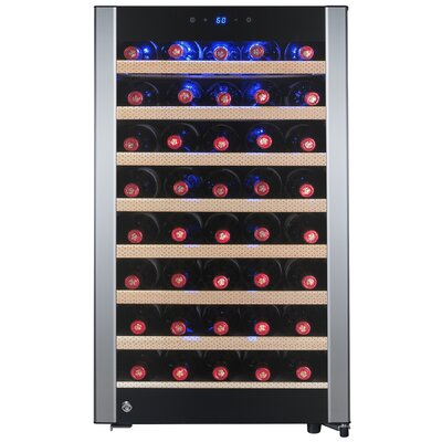 52 Bottle Single Zone Convertible Wine Cooler