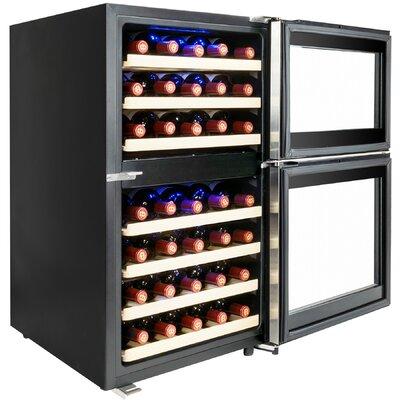 45 Bottle Dual Zone Built-In Wine Cooler