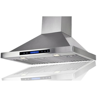 "36"" 400 CFM Convertible Wall Mount Range Hood"