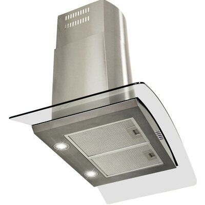 "36"" 380 CFM Convertible Wall Mount Range Hood"