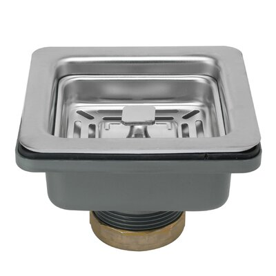 "Multi Layer Square 3.5"" Lift and Turn Kitchen Sink Drain"