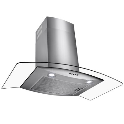 "30"" 500 CFM Ducted Wall Mount Range Hood"