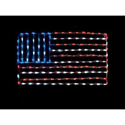 American Flag LED Light