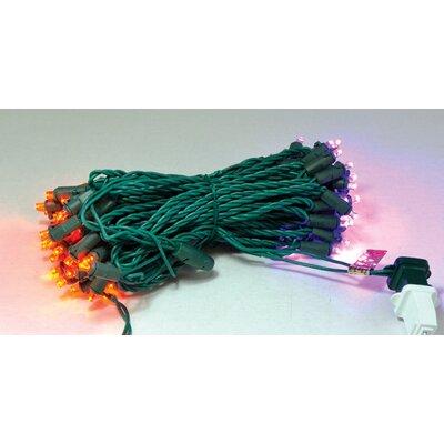 70's Concave LED Light Color: Orange/Purple