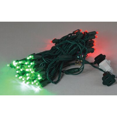 70's Concave LED Light Color: Red/Green