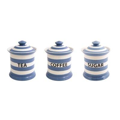 Fairmont and Main Ltd Kitchen Stripe 3 Piece Jar Set