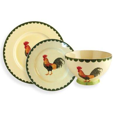 Fairmont and Main Ltd Cockerel 12 Piece Dinnerware Set