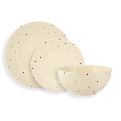 Fairmont and Main Ltd Little Dot 12 Piece Dinnerware Set