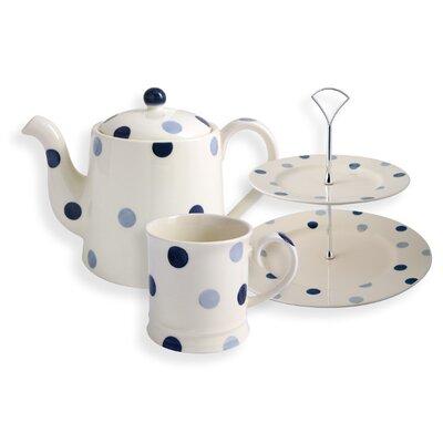 Fairmont and Main Ltd Spot Afternoon 6 Piece Tea Set