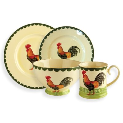 Fairmont and Main Ltd Cockerel 16 Piece Dinnerware Set