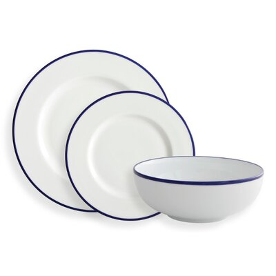 Fairmont and Main Ltd Canteen 12 Piece Dinnerware Set