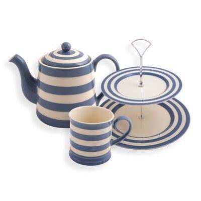 Fairmont and Main Ltd Kitchen Stripe 6 Piece Afternoon Tea Set