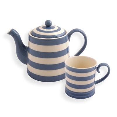 Fairmont and Main Ltd Kitchen Stripe 5 Piece Tea Set