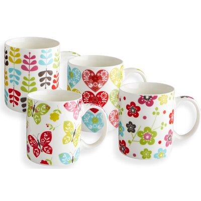 Fairmont and Main Ltd Blossom 4 Piece Mug Set