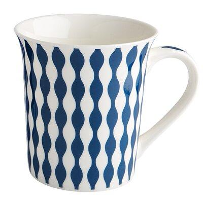 Fairmont and Main Ltd Geo Ripples Mug