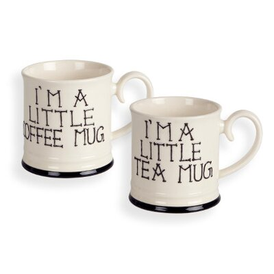 Fairmont and Main Ltd I'm a Little Teapot 4 Piece Tea and Coffee Tankard Mug Set
