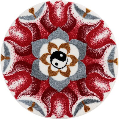 Grund Mandala Red Area Rug