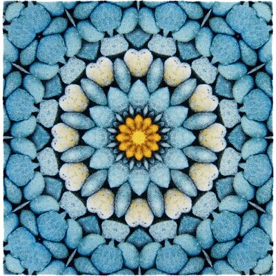 Grund Mandala Blue Area Rug