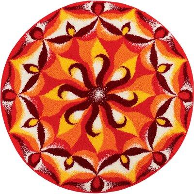 Grund Mandala Spirit Orange Area Rug