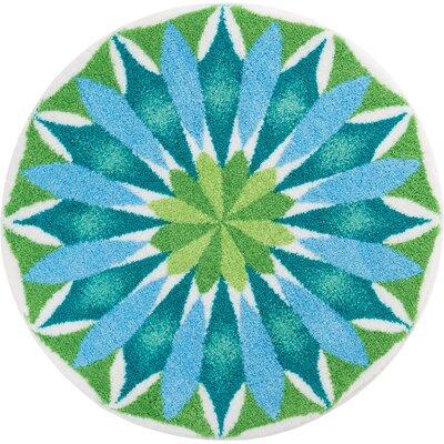Grund Mandala Blue/Green Area Rug