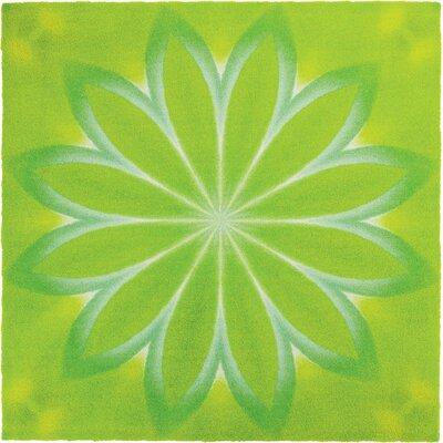 Grund Mandala Green Area Rug