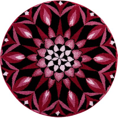 Grund Mandala Power of The Moment Pink Area Rug
