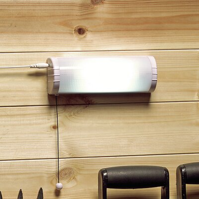 Cole and Bright Solar Shed Flush Wall Light