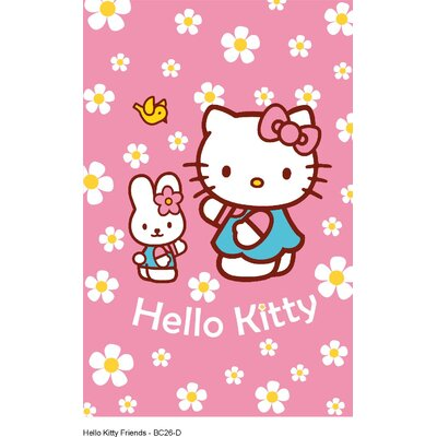 Boeing Carpet GmbH Hello Kitty Pink Area Rug