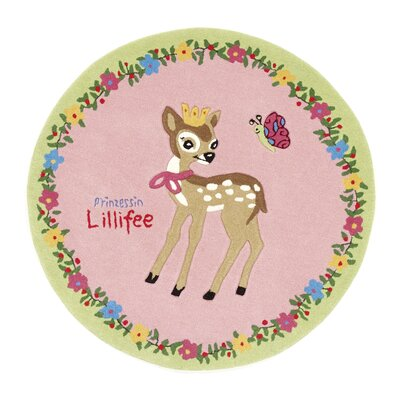 Boeing Carpet GmbH Princess Lillifee Pink Area Rug