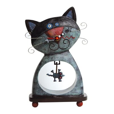 Allen Design Cat and Mouse Clock