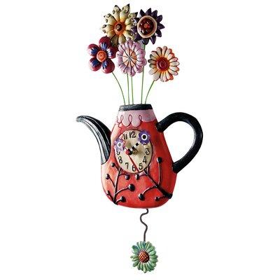 Allen Design Flower-Tea-Ful Clock