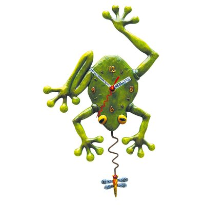 Allen Design Frog Fly Clock