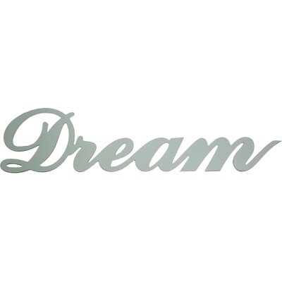"Dassie Digi Cut ""Dream"" Typography Plaque"