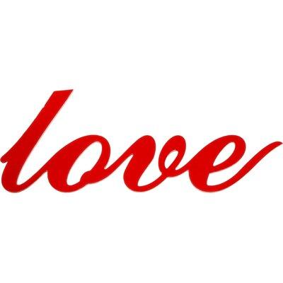 "Dassie Digi Cut ""Love"" Typography Plaque"