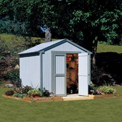 Marco Series 8 ft. W x 7 ft. 9 in. D Wooden Storage Shed Floor: Without Floor