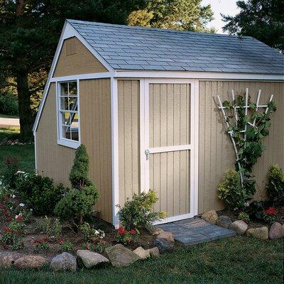 Solar 7 ft. 10 in. W x 10 ft. 6 in. D Wooden Storage Shed Floor: With Floor