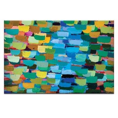 Artist Lane Water by Anna Blatman Art Print on Canvas