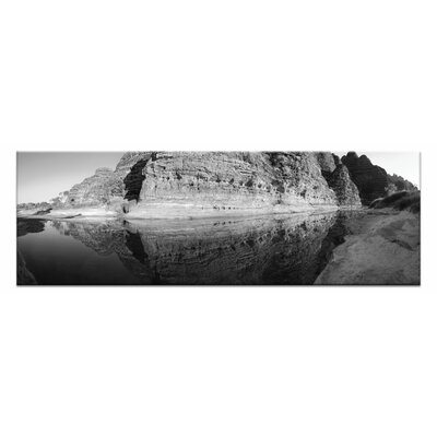 Artist Lane Purnalulu Reflections by Andrew Brown Photographic Print Wrapped on Canvas in Black/White