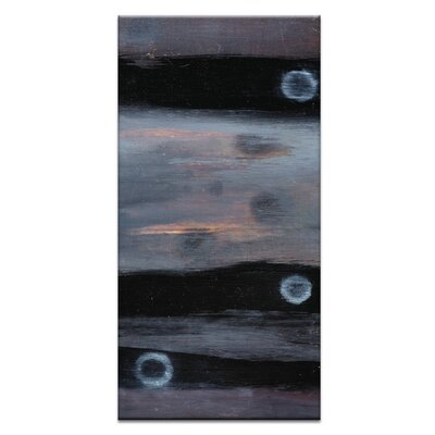 Artist Lane Black Holes and Other Dark Matter #10 by Katherine Boland Art Print on Canvas in Black/Grey