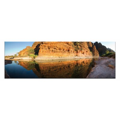 Artist Lane Purnalulu Reflections by Andrew Brown Photographic Print Wrapped on Canvas