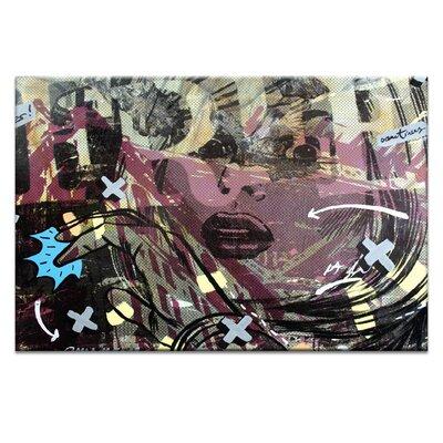 Artist Lane Sometimes Free by Dan Monteavaro Graphic Art Wrapped on Canvas