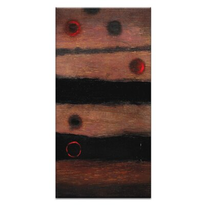 Artist Lane Black Holes and Other Dark Matter #12 by Katherine Boland Art Print Wrapped on Canvas in Brown/Black